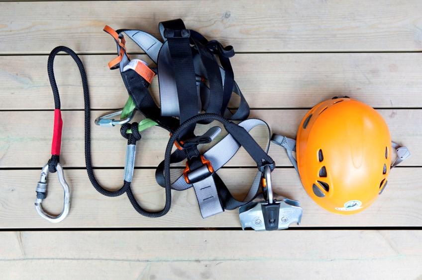 utstyr klatring